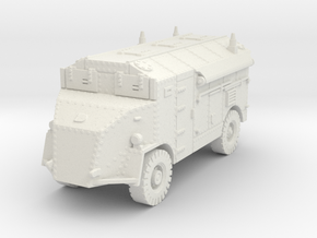 AEC Dorchester 4x4 LP late 1/87 in White Natural Versatile Plastic