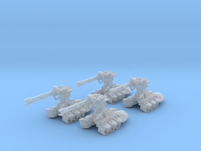 Space Skeleton Heavy Destroyer 6mm Epic Infantry in Smooth Fine Detail Plastic