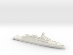 Belharra FDI in White Natural Versatile Plastic: 1:350