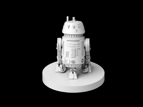 (IA) R5-D4 Skippy the Jedi Droid in Smooth Fine Detail Plastic