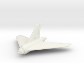(1:72) Lippisch P.15a/I Evaluation Model  in White Natural Versatile Plastic