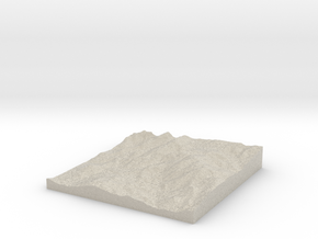 Pikes Peak Test w/o Shell in Natural Sandstone