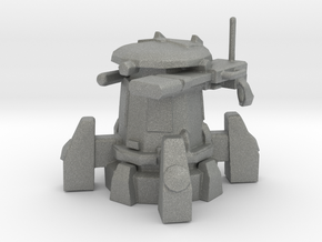 Tau Sentry Turret Epic Scale 30mm Gun miniature in Gray PA12