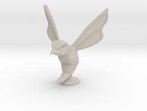 Hornet Hood Ornament in Natural Sandstone