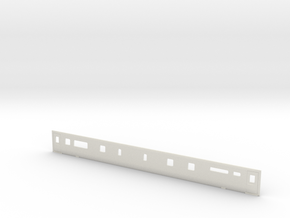 3mm Scale Mk3 TRBF Buffet Coach Side A in White Natural Versatile Plastic