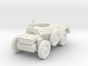 Sawed-Off Daimler AC 1/56 in White Natural Versatile Plastic