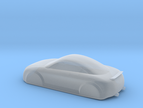 keychain Audi TT in Smooth Fine Detail Plastic