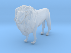 HO Scale Lion in Smooth Fine Detail Plastic
