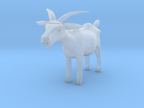 TT Scale Goat in Smooth Fine Detail Plastic