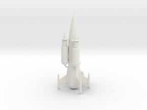 Space Cruiser Mayflower in White Natural Versatile Plastic