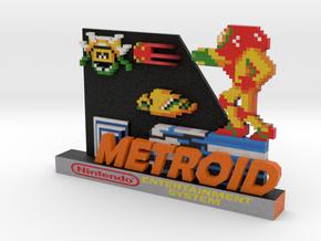 Metroid in Natural Full Color Sandstone