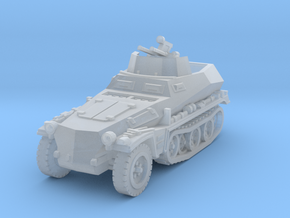 Sdkfz 250/4 A Anti Aircraft 1/200 in Smooth Fine Detail Plastic