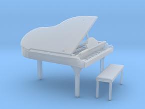 S Scale Grand Piano in Smooth Fine Detail Plastic