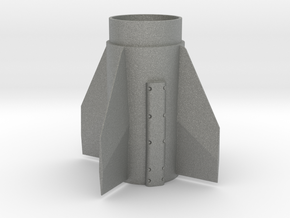 Patriot Missile 38mm Fin Unit for 29mm motors in Gray PA12