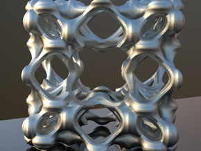 Fractal Box KP5 in Polished Nickel Steel