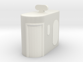 Street Toilet 1/35 in White Natural Versatile Plastic