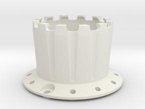 PSI - Light Chamber 1 (Front) in White Natural Versatile Plastic