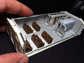 SPACE 2999 EAGLE MPC 1/72 CREW POD INTERIOR in Smooth Fine Detail Plastic