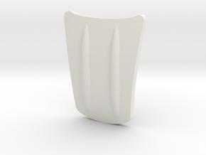 pendant mercedes SL Hood in White Natural Versatile Plastic