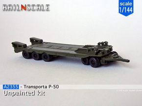 Transporta P-50 (1/144) in Smooth Fine Detail Plastic