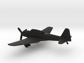 Mitsubishi Ki-51 Sonia in Black Natural Versatile Plastic: 1:160 - N
