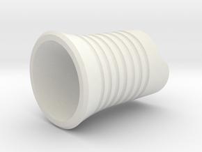 TS100 Soldering Iron Grip in White Natural Versatile Plastic