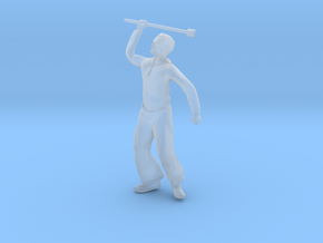 Seaman Figure in Smooth Fine Detail Plastic