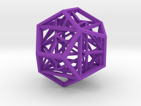 gmtrx lawal nested platonic solids in Purple Processed Versatile Plastic