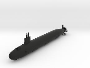 Virginia Class Submarine in Black Natural Versatile Plastic