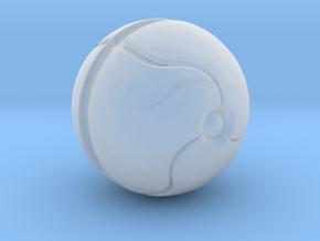 Metroid Samus Morph Ball miniature game rpg NoBase in Smooth Fine Detail Plastic
