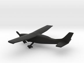 Cessna 207 Skywagon in Black Natural Versatile Plastic: 1:144