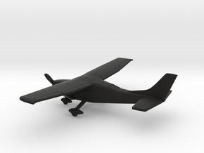 Cessna 206 Skywagon in Black Natural Versatile Plastic: 1:144
