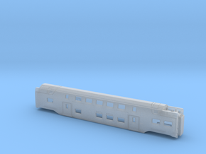 Westbahn/DB Stadler Kiss Centre Carriage 2 in Smooth Fine Detail Plastic: 1:160 - N