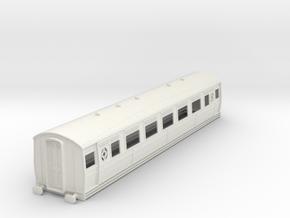 0-32-ltsr-ealing-3rd-class-coach in White Natural Versatile Plastic