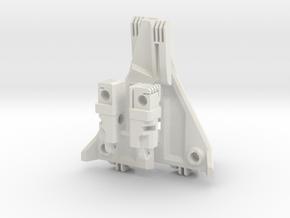 Complete Ramjet Conversion for Dreadwind in White Natural Versatile Plastic