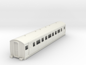 0-76-ltsr-ealing-composite-coach in White Natural Versatile Plastic