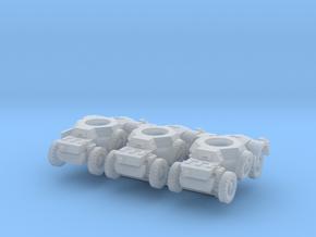 Sawed-Off Daimler AC (x3) 1/285 in Smooth Fine Detail Plastic