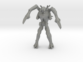Dead Space Ubermorph 37mm miniature games rpg in Gray PA12