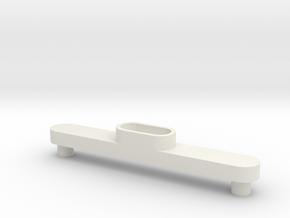 Traxxas Sledgehammer body mount support 1814 in White Natural Versatile Plastic