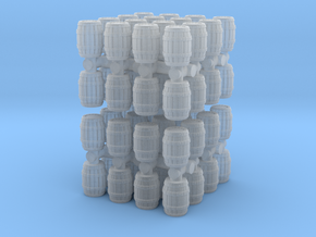Wooden Barrel (x64) 1/350 in Smooth Fine Detail Plastic