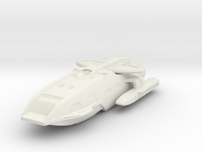 Star Trek - Condor miniature in White Natural Versatile Plastic