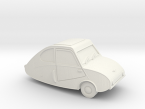 Fulda Mobil scale 1:87 in White Natural Versatile Plastic
