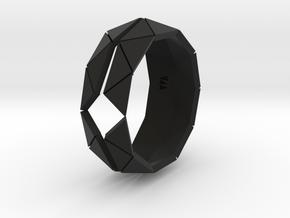 Polygonal Perfection i4 TALLA 6 LAbdGRAFO -  TPA in Black Premium Versatile Plastic