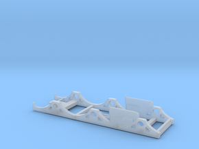 BROAD 0-6-0 Caesar - Chassis in Smooth Fine Detail Plastic