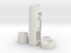 PP/7Chambers Ultimate Hero Neopixel/CFX CC Chassis in White Natural Versatile Plastic