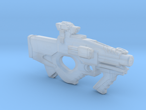Reaper GT22 Assault rifle 1:6 in Smooth Fine Detail Plastic