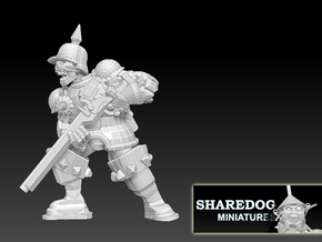 Character Series: Undead Musketeer in White Natural Versatile Plastic