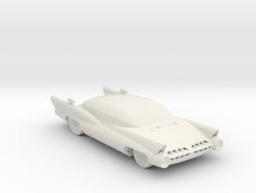 BG Car v1 1:160 Scale in White Natural Versatile Plastic