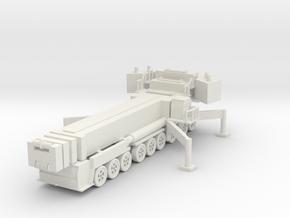 Liebherr LTM 1750-9.1 (deployed) 1/87 in White Natural Versatile Plastic