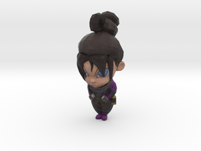 Wraith BobbleHead - Charms Apex Legends in Natural Full Color Sandstone